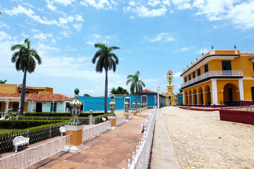Plaça Mayor a Trinidad