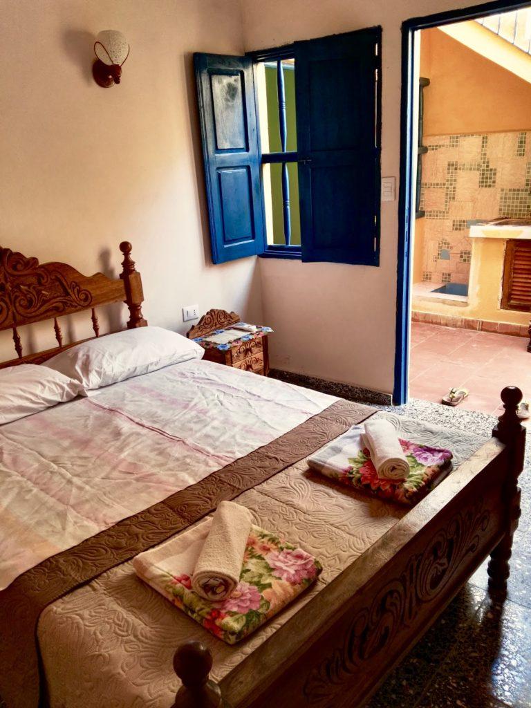 Camera matrimoniale Casa Cuba