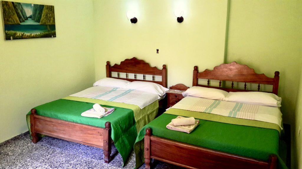 Camera quadrupla Casa Cuba